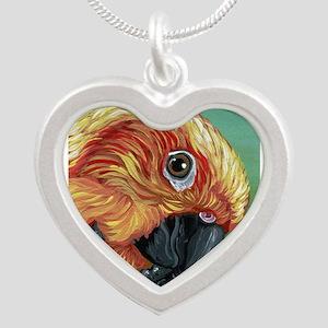 Sun Conure Parrot Necklaces