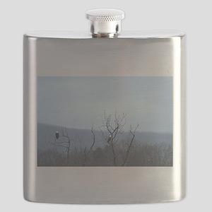 Bald Eagles Flask