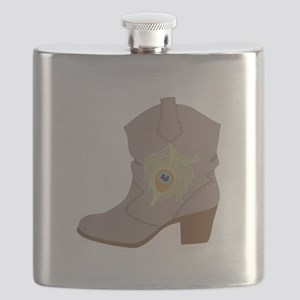 Feather Boot Flask