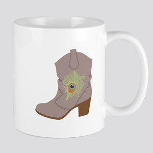 Feather Boot Mugs