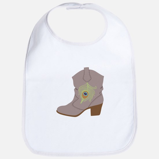 Feather Boot Bib