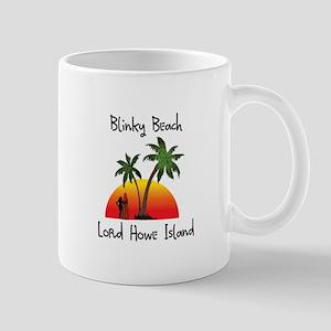 Blinky Beach Mugs