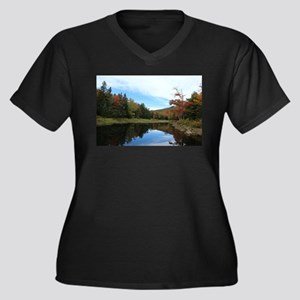 Vermont Lake Plus Size T-Shirt