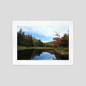 Vermont Lake 5'x7'Area Rug