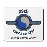 29th infantry division Classic Mousepad