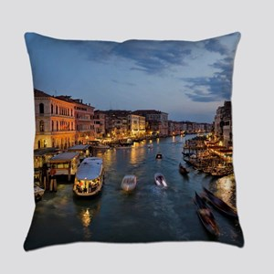 VENICE CANAL Everyday Pillow