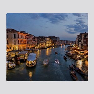 VENICE CANAL Throw Blanket