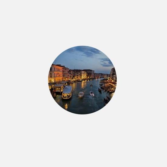 VENICE CANAL Mini Button
