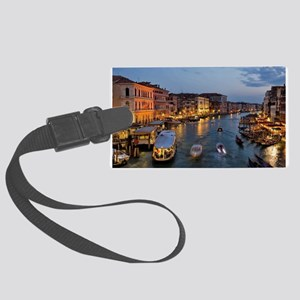 VENICE CANAL Large Luggage Tag