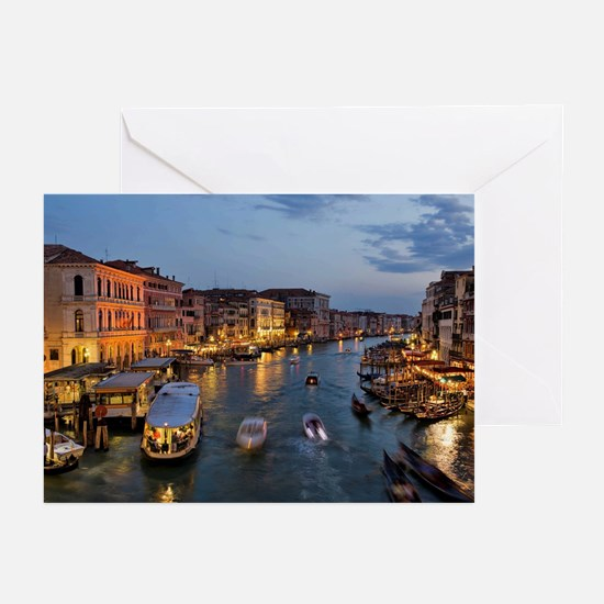 VENICE CANAL Greeting Cards (Pk of 10)