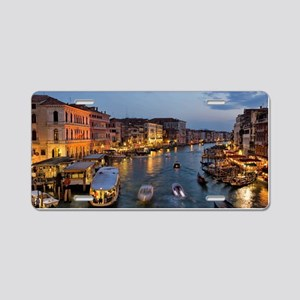 VENICE CANAL Aluminum License Plate