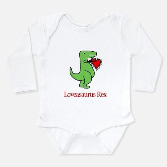 Cute Unique valentines Long Sleeve Infant Bodysuit
