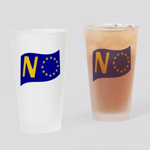 Just say NO to the EU! Drinking Glass
