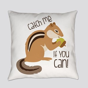 Catch Me Chipmunk Everyday Pillow