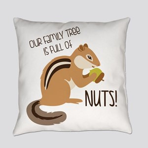 Family Tree Nuts Everyday Pillow