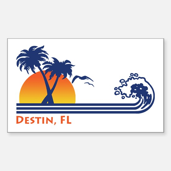 Destin FL Sticker (Rectangle)