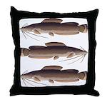 Vundu Catfish Throw Pillow