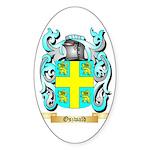 Oszwald Sticker (Oval 50 pk)
