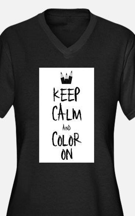 Color_on_2 Plus Size T-Shirt