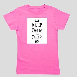 Color_on_2 Girl's Tee