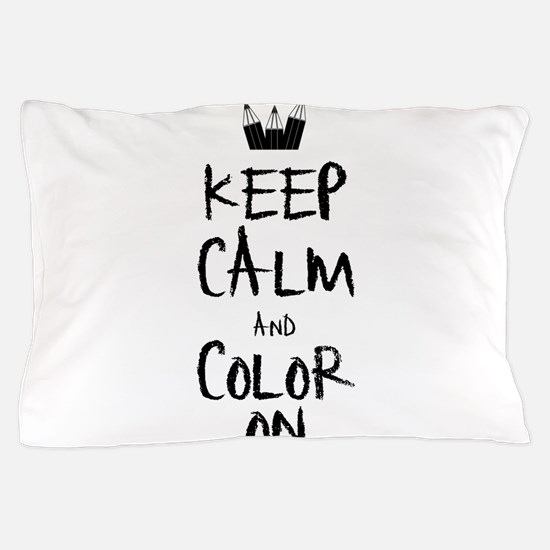 Color_on_2 Pillow Case