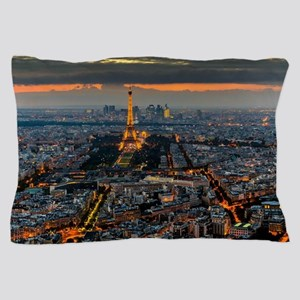 PARIS FROM ABOVE Pillow Case
