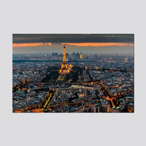 PARIS FROM ABOVE Mini Poster Print