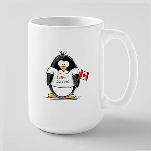 Canada Penguin Stainless Steel Travel Mugs
