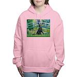 Flat Coated Retriever 2 - Bridge Women's Hoode