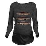Vundu Catfish Long Sleeve Maternity T-Shirt
