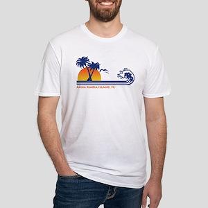Anna Maria Island FL Fitted T-Shirt