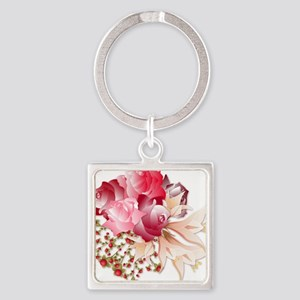 Bouquet of Roses Keychains