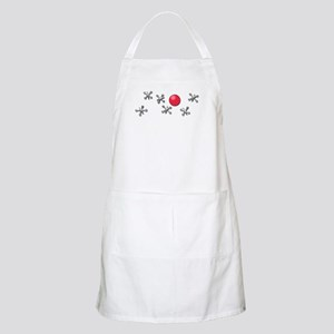 Old Fashioned Ball and Jacks Game Apron