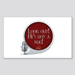 Frasier: Look Out! Sticker (Rectangle)