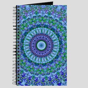 Blue Spirit Mandala Journal