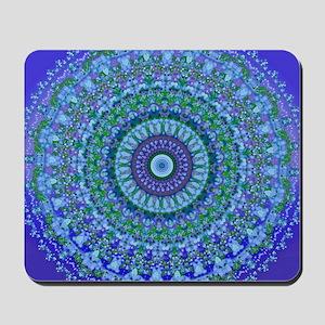 Blue Spirit Mandala Mousepad