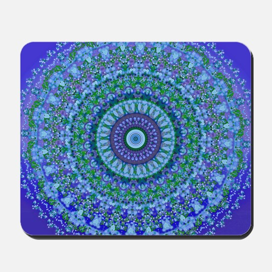 Blue Spirit Mandala Mousepad