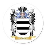 Ostler Round Car Magnet