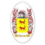 Osorio Sticker (Oval 50 pk)