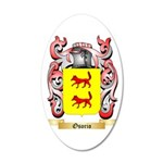 Osorio 35x21 Oval Wall Decal