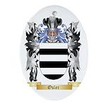 Osler Oval Ornament