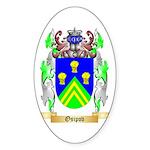 Osipov Sticker (Oval 10 pk)