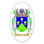 Osipenko Sticker (Oval)