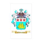 O'Shelvin Sticker (Rectangle 50 pk)