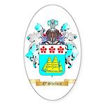 O'Shelvin Sticker (Oval 50 pk)