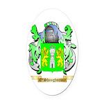 O'Shaughnessy Oval Car Magnet