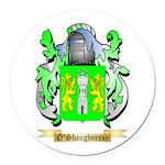O'Shaughnessy Round Car Magnet