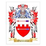 Osckleston Small Poster