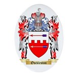 Osckleston Oval Ornament