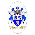 O'Scannell Sticker (Oval 10 pk)